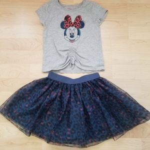 Minnie Mouse Outfit Set